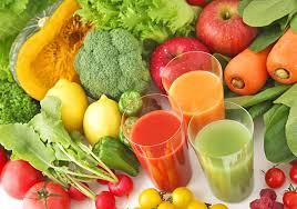 nước ép rau và quả